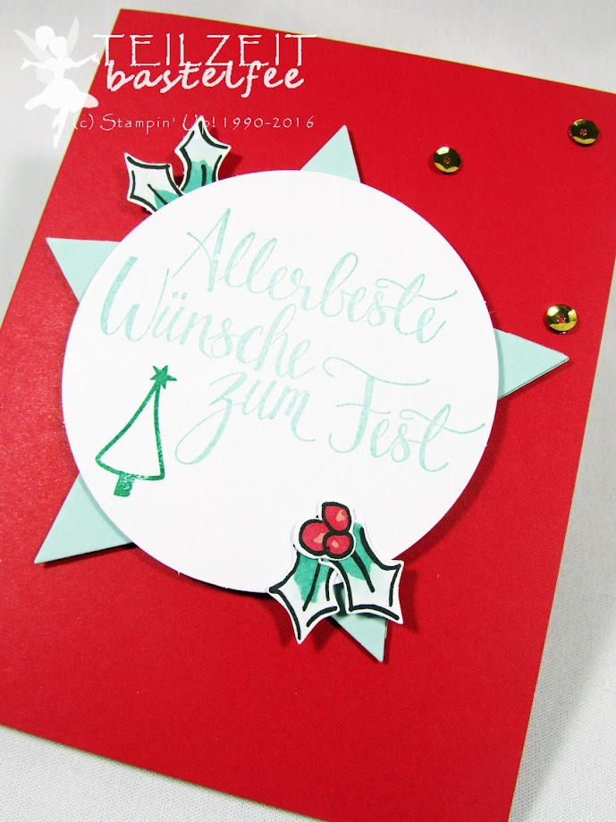 Stampin' Up! – December Inkspiration, Projektset Malerische Weihnachten, Watercolor Christmas, Tage wie Weihnachten, Season like Christmas