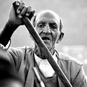 i am not tired yet by Jayanta Roy - People Portraits of Men
