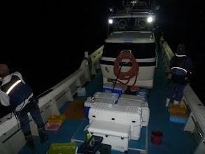 Photo: さあー、夜釣りスタートです。