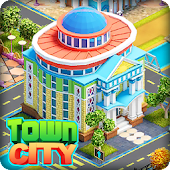 Town City - Village Building Sim Paradise Game icon