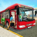 City Bus Passenger Driving icon
