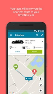 DriveNow Carsharing screenshot 1