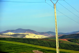 Photo: I travel the back roads to Fes