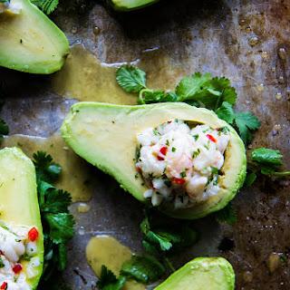 Shrimp Ceviche Stuffed Avocados Recipe