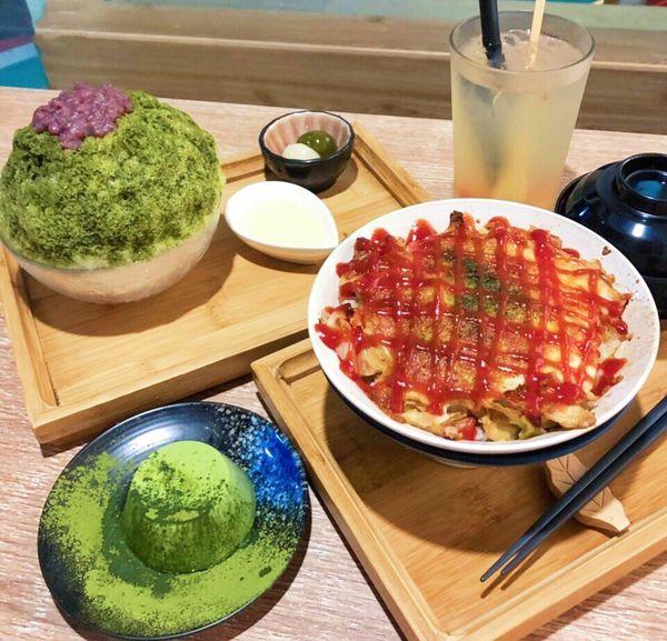 好想吃冰 かき氷日式蔬食|蔬食配甜點,沒有肉但依舊很滿足的一餐(完整菜單)