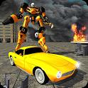 Classic Car Transform Robot icon
