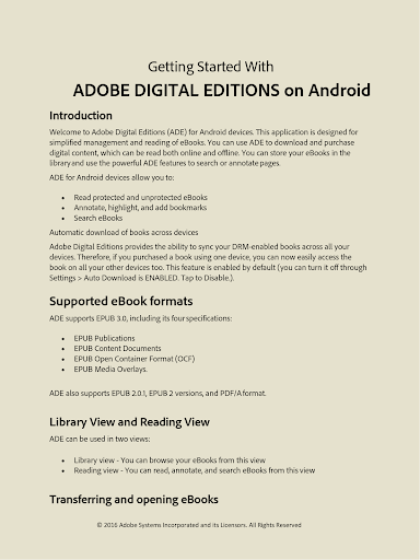 Adobe Digital Editions screenshot 6
