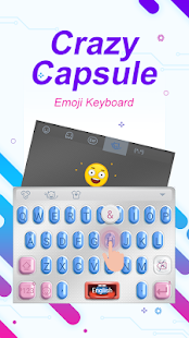 Crazy Capsule Theme&Emoji Keyboard - náhled
