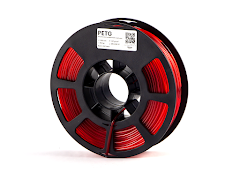 Kodak Translucent Red PETG Filament - 1.75mm (0.75kg)