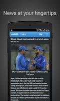Screenshot of Cricbuzz Cricket Scores & News