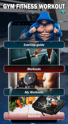 Gym Fitness & Workout : Personal trainer PRO screenshot 1