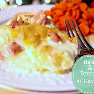 Ham & Potatoes Au Gratin