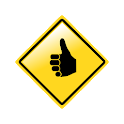 Hitchhiker Carpooling icon