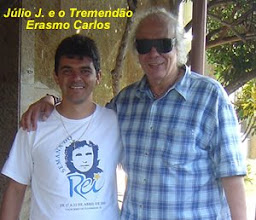Photo: Júlio J. e o amigo Erasmo Carlos em Cachoeiro de Itapemirim-ES na Semana do Rei em abril de 2005