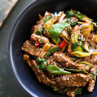 Ginger Beef Stir Fry Recipe