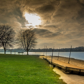 Beach by Mohamed Hussein - Landscapes Beaches ( pa, lake, beach, nikon, syunset, usa )