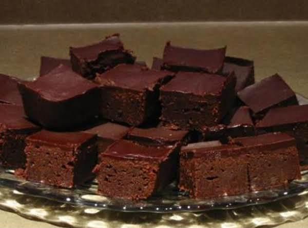 CHOCOLATE MASCARPONE BROWNIES image