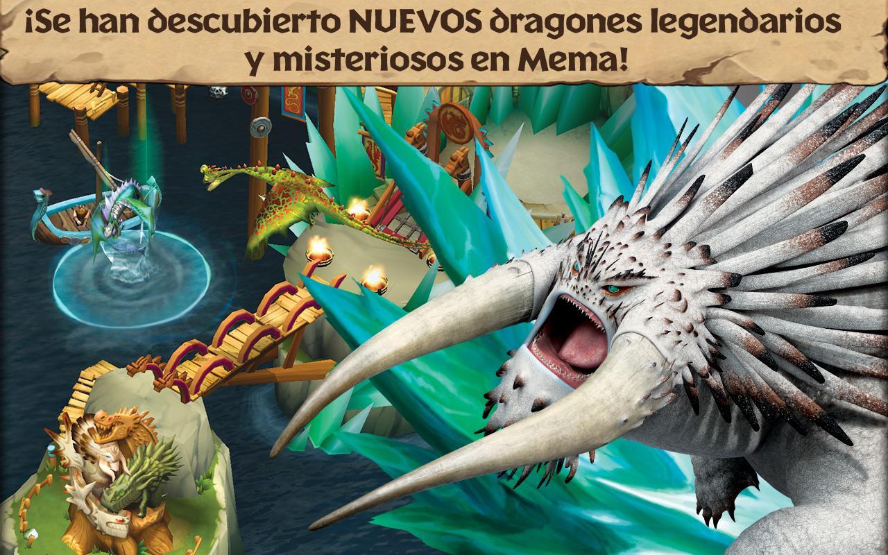 Dragones: El resurgir de Mema