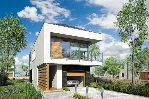 projekt Modern House II