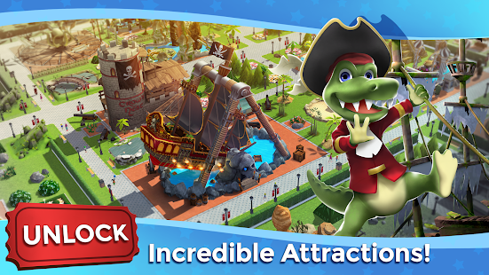 تنزيل RollerCoaster Tycoon Touch - Build your Theme Park APK + Mod