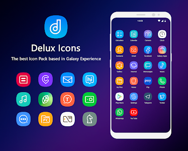 Delux - Icon Pack 2.2.5 (Patched)