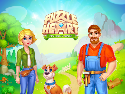 Puzzle Heart Match-3 Adventure Screenshot