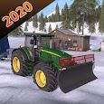 Tractor Trolley Farming Simulator 3D 2020