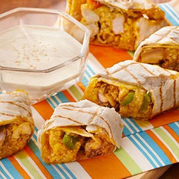 school snack ideas paella burrito