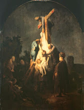 Photo: Rembrandt, The Deposition, 1633