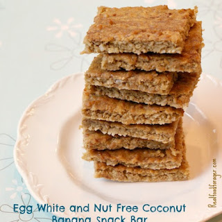 Egg White and Nut Free Snack Bar.