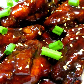 Beer Braised Szechuan Chicken Wings - Chinese Sichuan Chicken Wing