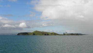 Photo: Extinct volcano island