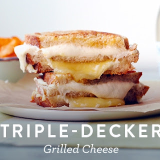 Triple-Decker Grilled Cheese.