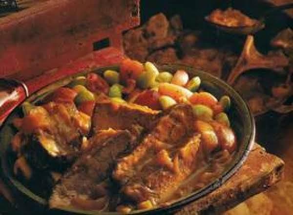 Barbecue Pot Roast Just A Pinch Recipes