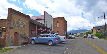 Photo: Another shot of Hollowtop from Main Street in Pony, MT - taken 2 years later.  To read about this and other adventures (and see photos), go to bigskywalker.com.