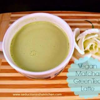 Vegan Green Tea Latte.