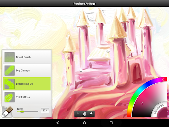 ArtRage Oil Painter Free APK screenshot thumbnail 4