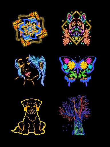 Doodle Master - Glow Art 1.0.24 screenshots 17