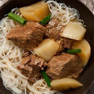 Chinese Brisket and Turnip Stew Recipe