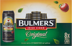 Bulmers Irish Cider - Original, 8 x 500ml Can