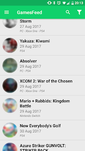 GamesFeed - Upcoming game release dates calendar Screenshot