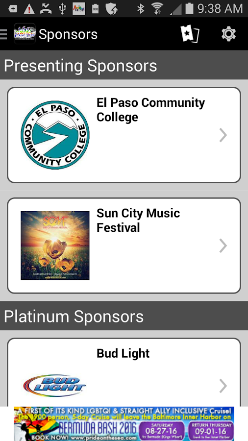 El Paso Sun City Pride- screenshot
