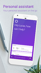 Cortana – Digital assistant Screenshot