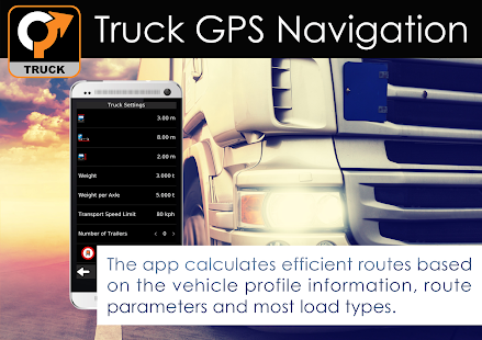 Truck GPS Navigation by Aponia- screenshot thumbnail