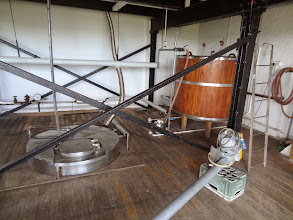 Photo: Elgood's small brew system for test batches.