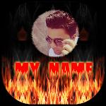 My Photo Name Fire LiveWP