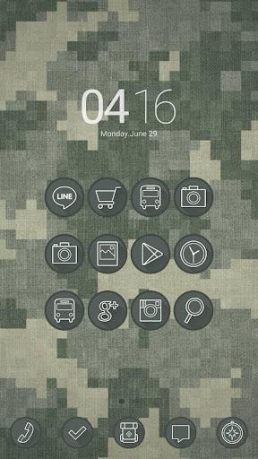 Digital militaryドドルランチャーテーマ