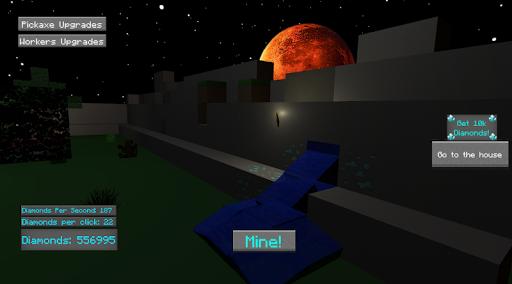 IdleCraft - mine diamonds and build a house! android2mod screenshots 4