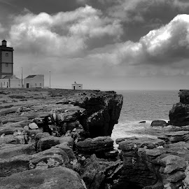Places by Gil Reis - Black & White Landscapes ( sky, places, nature, weather, clouds, sea )