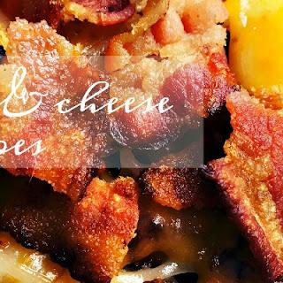 Bacon Cheddar Fried Potatoes